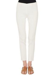 Akris Melissa Mid-Rise Slim-Leg Pants