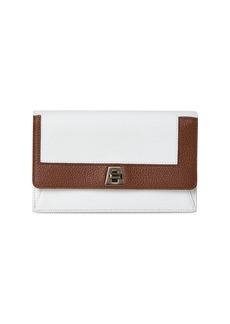 Akris Mini Anouk Envelope Colorblock Leather Crossbody Bag