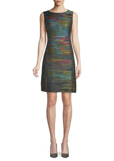 Akris Multicolored Sleeveless Dress