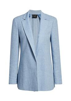 Akris Pekka Linen & Wool Jacket