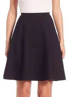Akris punto A-Line Scuba Skirt
