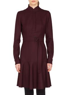 Akris punto Bell Skirt Wool Dress