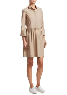 Akris Punto Bell Sleeve Shirt Dress