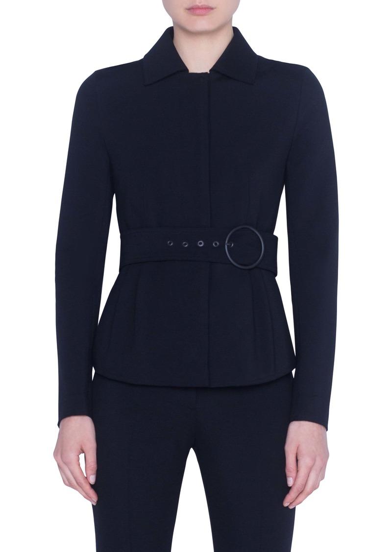 Akris punto Belted Jacket