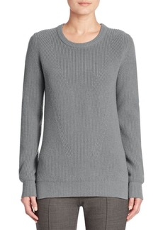 Akris punto Chunky Rib-Knit Wool & Angora Sweater