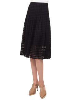 Akris punto Circle Lace Midi Skirt