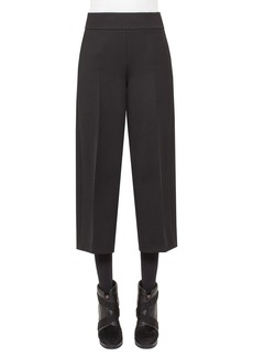 Akris punto Corrine High-Waist Culottes