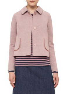 Akris punto Doll Collar Jersey Jacket