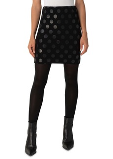 Akris punto Dot Jersey Skirt