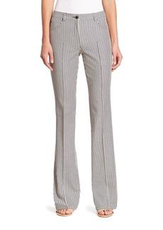 Akris punto Faye Cut Striped Pants