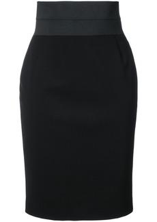 Akris Punto fitted waist skirt
