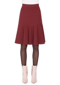 Akris punto Flounce Hem Skirt