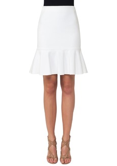 Akris Punto Fluted Jersey Fit-and-Flare Skirt