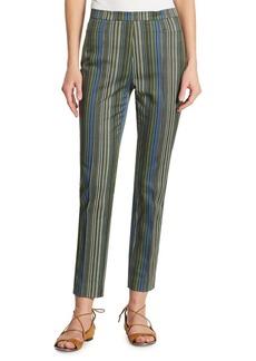 Akris punto Franca Multicolor Striped Pants