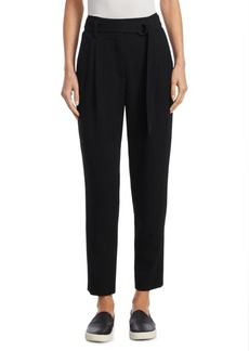 Fred Gabardine Belted Wool Pants