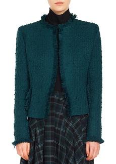 Akris punto Fringe Tweed Jacket