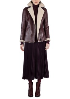 Akris punto Genuine Shearling Jacket