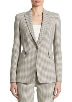 Akris punto Glen Checked Jacket