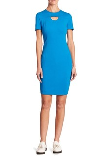 Akris Punto Jersey Cutout Dress