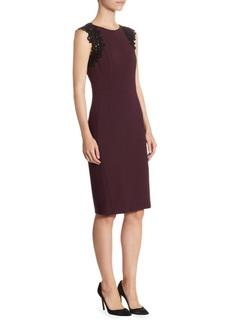 Akris Lace Jersey Dress