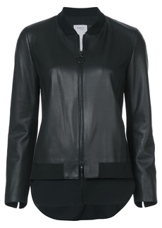 Akris Punto leather bomber jacket - Black