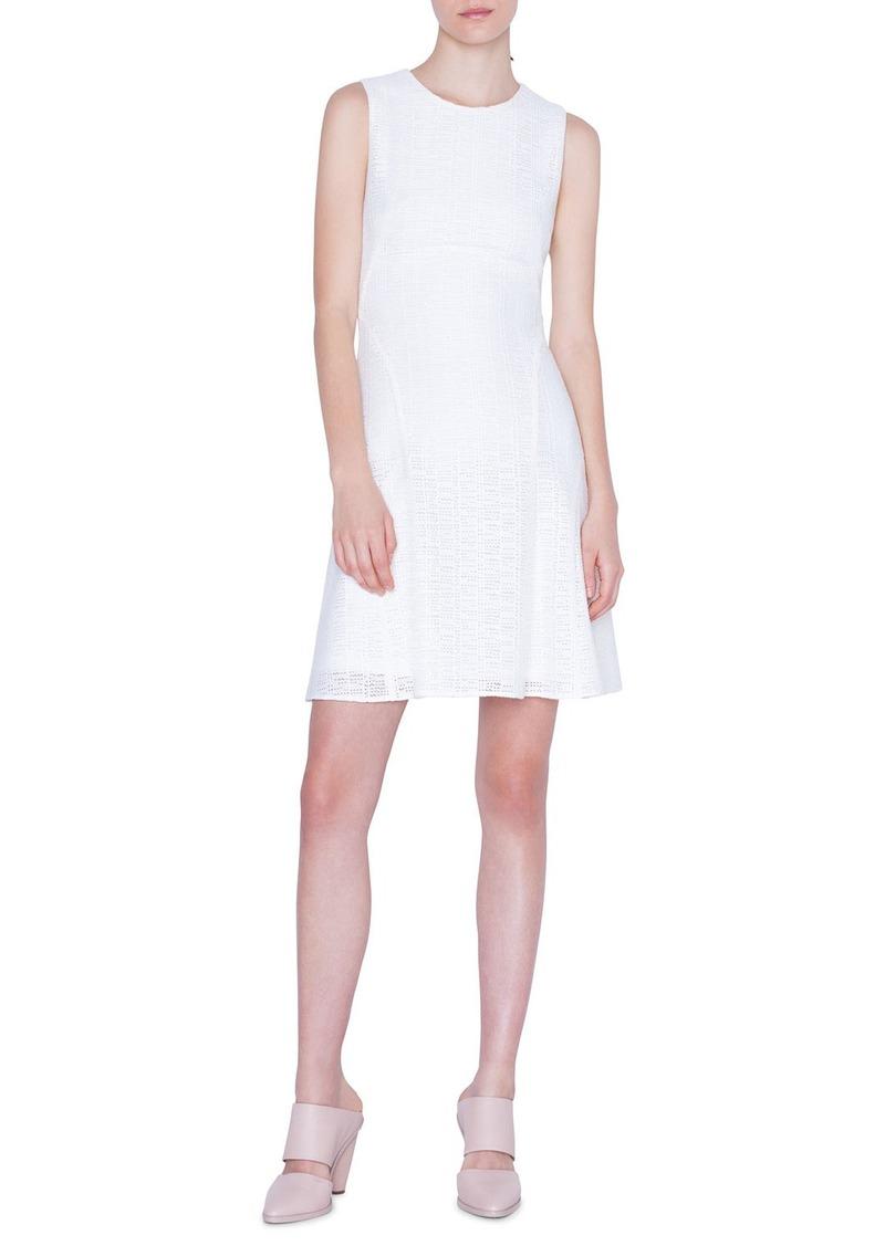 Akris punto Lightweight Grid-Lace Dress