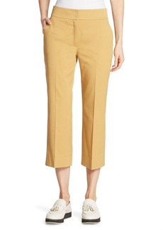 Akris punto Madison Cropped Cotton Pants