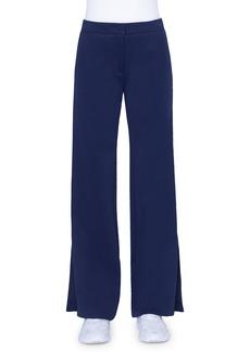 Akris punto Marla Tuxedo-Striped Jersey pants