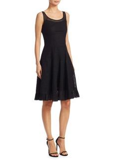 Akris Punto Mesh A-Line Dress