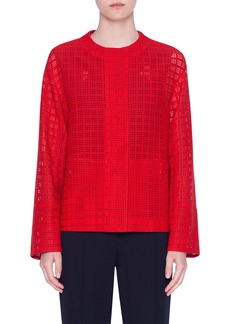 Akris punto Mesh Lace Jacket