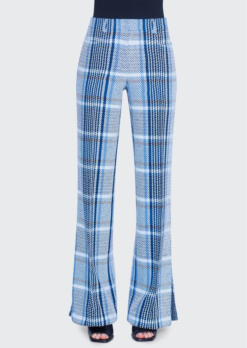 Akris punto Mikka Cotton Tweed Pants