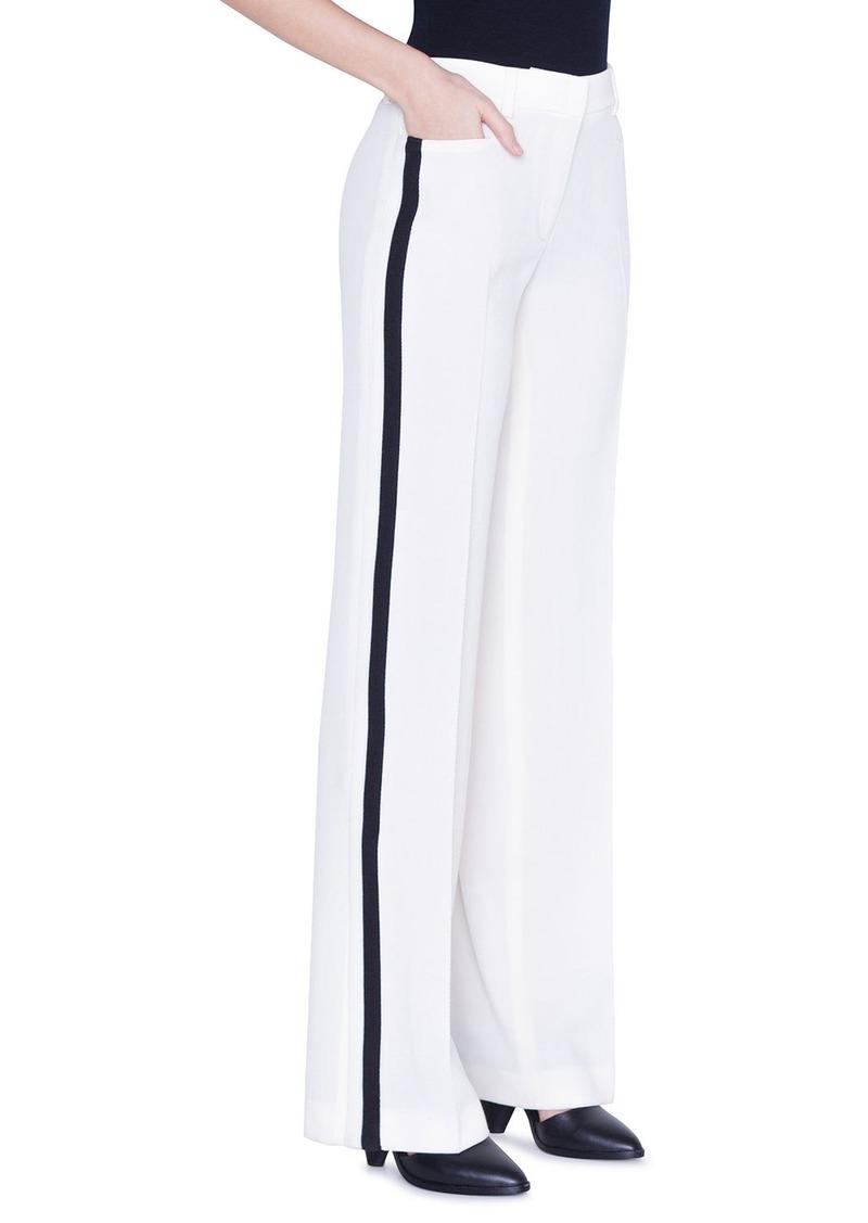 Akris punto Mikka Striped Tracksuit-Style Pants