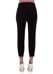 Akris punto Mimi Cropped Pants W/Elastic Cuffs
