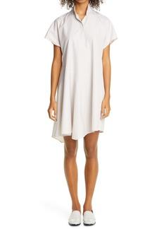 Akris punto Multi Stripe Cotton Shirtdress