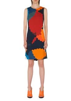 Akris punto Nuvola Print Shift Dress