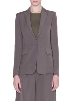 Akris punto One-Button Jacket