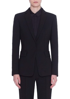 Akris punto Pin Dot Stud Jacket