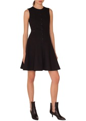 Akris punto Piqué Jersey A-Line Dress
