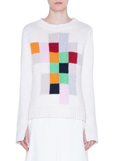 Akris punto Pixel Intarsia Sweater