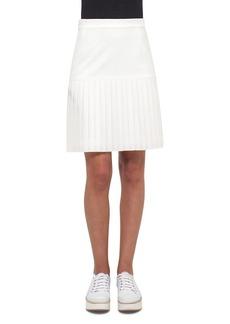 Akris punto Pleated Hem Skirt