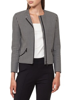 Akris punto Quadrant Circle Short Jacket