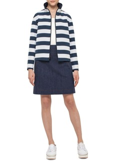 Akris punto Reversible Stripe Jacket