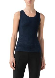 Akris punto Rib Merino Wool Sweater Tank