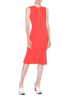 Akris punto Scallop Cutout Dress