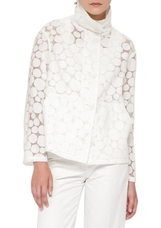 Akris punto Sheer Dot Jacket