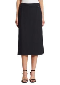 Akris punto Side Zip Midi Skirt