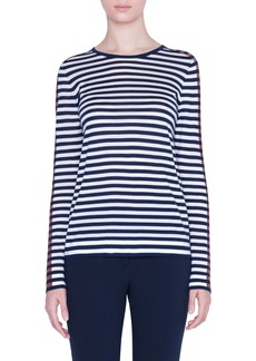 Akris punto Signature Stripe Sweater