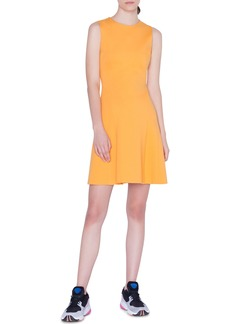 Akris punto Sleeveless A-Line Jersey Dress
