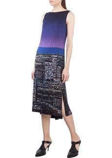 Akris punto Sleeveless Twilight City Tunic Dress