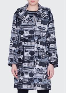Akris punto Stereo Jacquard Coat